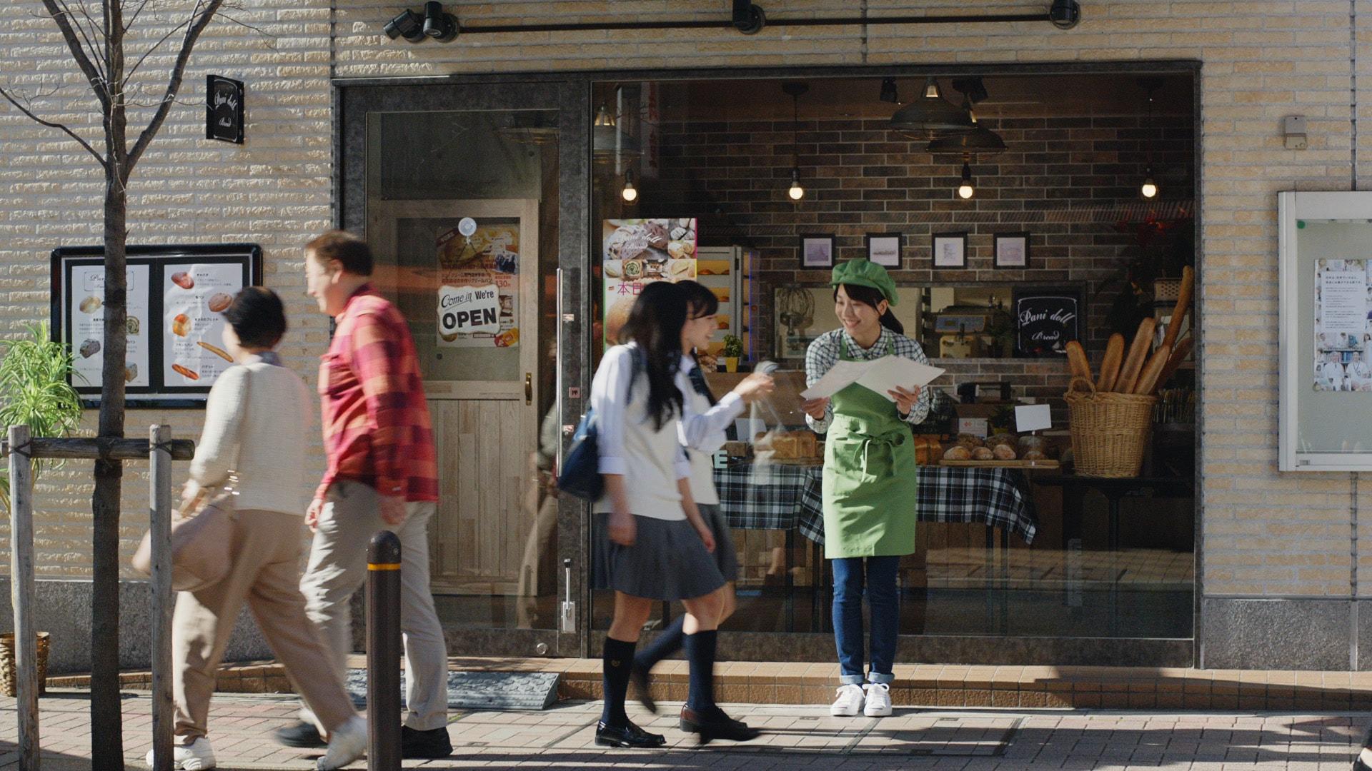 「プリントパック」TV-CM<br>「日本中のお役に立ちたい」篇