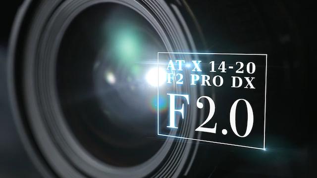 次世代広角ズーム Tokina AT X 14-20 F2