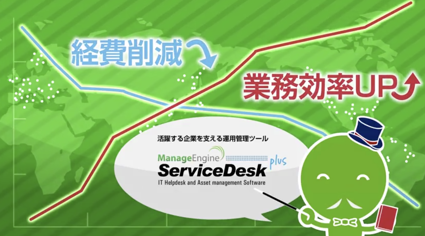 ゾーホージャパン ServiceDesk plus